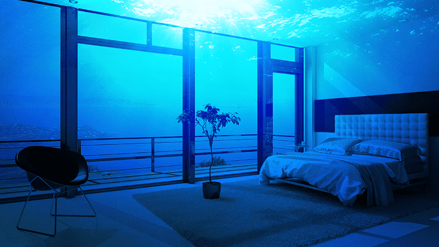 Underwater hotel Atlantic Tweet Indaily Worlds First Underwater Hotel Opens X96