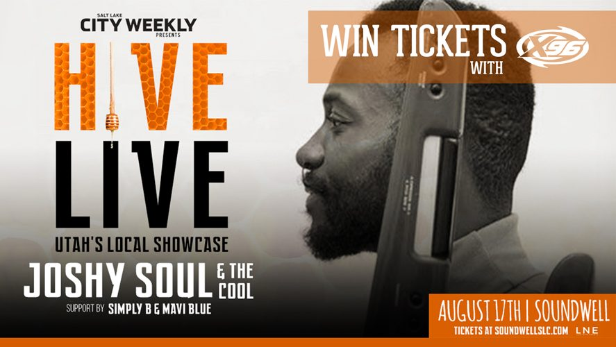Win Tickets to see Joshy Soul live in the Hive Live Concert Series